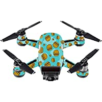 Skin For DJI Spark Mini Drone – Burger Heaven | MightySkins Protective, Durable, and Unique Vinyl Decal wrap cover | Easy To Apply, Remove, and Change Styles | Made in the USA