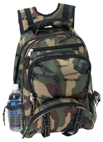 Extreme Pak Invisible Camo - Extreme Pak With Invisible Camo Pattern Polyester Backpack