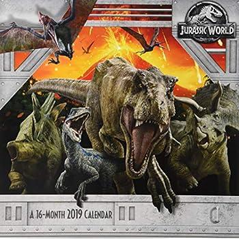 Amazon.com: Jurassic World Calendario 2019 Set - Deluxe 2019 ...