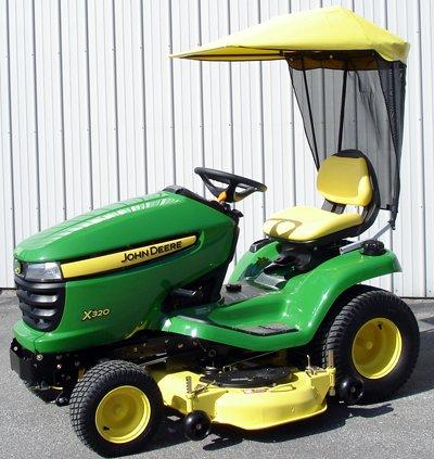 Original Tractor Cab Sunshade Fits John Deere X300 Series...