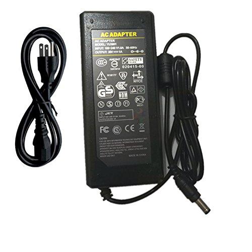36V 1A AC DC adaptador cargador para 50503528luz LED CCTV 36V1A Interruptor Fuente de alimentación DC...