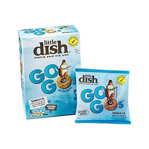 Little Dish Go Gos Vanilla 5 x 25g - Pack of 4