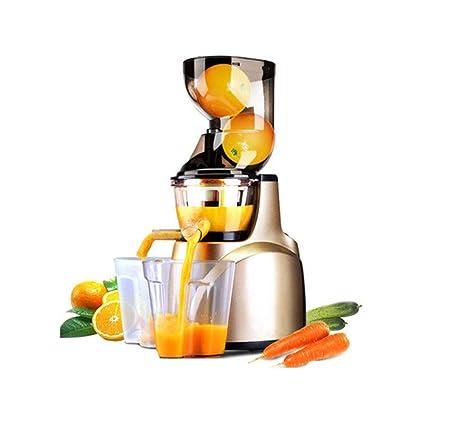 Exprimidor Exprimidor lento, Gran Diámetro Hogar automático multifuncional máquina de zumo zumo Pulsar máquina de