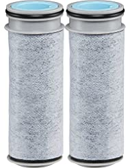 Brita Stream Water Filter, Stream Pitcher Replacement Water Filter, BPA Free - 2 Count