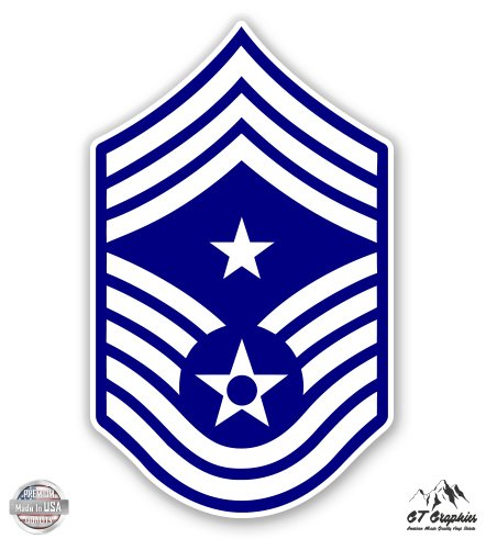US Air Force E9c Command Chief Master Sergeant Rank - 3