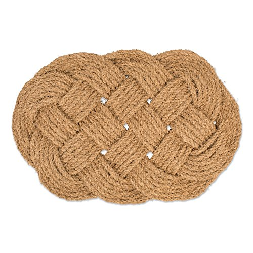 Natural Handmade Woven Coir Coco Fiber Non-Slip Outdoor/Indoor Doormat