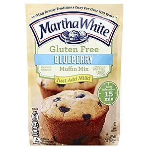 Martha White Gluten Free Muffin Mix, Blueberry, 7 oz ...