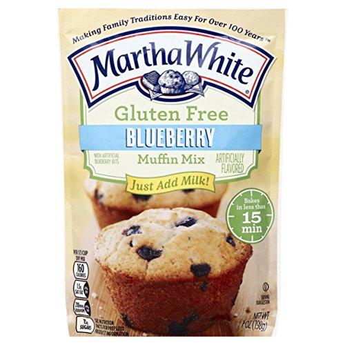 Martha White Gluten Free Muffin Mix, Blueberry, 7 - Free Blueberry Gluten Muffins