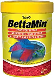 Tetra Tropical Betta Foods, Fish Food with Colour Enhancers, 23g (77811-02)