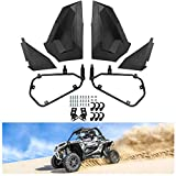 KIWI MASTER Lower Half Door Inserts Panels Compatible for 2014-2019 Polaris RZR XP 1000 900 S Turbo EPS 2 Door, Black 2879509