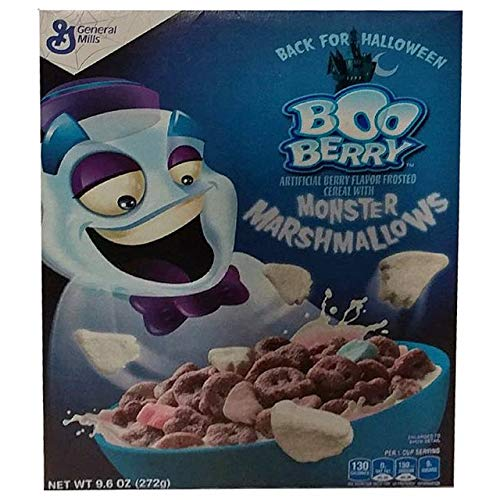 Boo Berry Halloween Cereal With Monster Marshmallows (3 boxes)