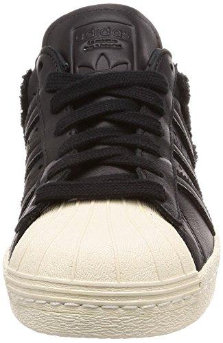 Noir Homme 80s Blanc Adidas Pour Gymnastique Core Cass Superstar De noir Chaussures Cass 0YxfHq