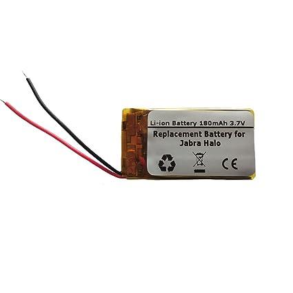 6d3affbadaa Amazon.com: Starnovo 180mAh/3.7V Replacement Battery for Jabra Halo ...