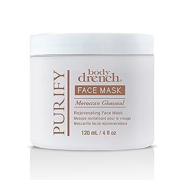 Body Drench Moroccan Ghassoul Rejuvenating Face Mask, 4 fl oz Humphreys Humphreys  Witch Hazel, 2 oz