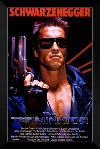 The Terminator FRAMED 27x40 Movie Poster