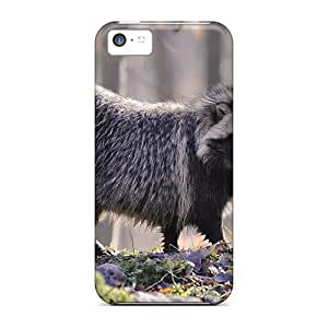 New Arrival Animals Beasts Lonely Raccoon EFgtnfo1671CWYhI Case Cover/ 5c Iphone Case