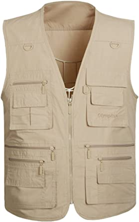 Details about Mens Summer Waistcoat Lightweight Gilet Jacket Fishing Hunting Safari Coat TOP