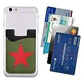 USSR Star Phone Card Holder, Stick-on ID Credit