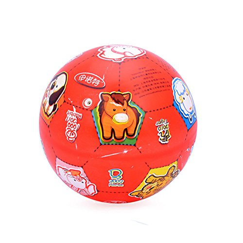 [RED Zodiac] INNOVATIVE Kid PVC Ball Children Beach Summer Party Ball, 8.5'' by Panda Superstore