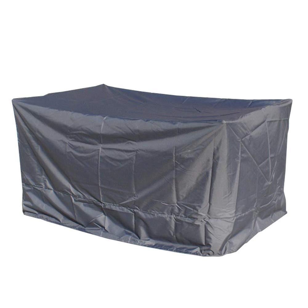 PENGFEI ガーデン家具カバーターポリンタープターポリン パティオ テーブルと椅子 貨物 防塵の 防水 錆びないように、 11サイズ、 カスタムメイド (色 : Gray, サイズ さいず : 150x75x70cm) 150x75x70cm Gray B07JVTYMSL