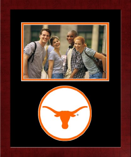 Campus Images NCAA Texas Longhorns University Spirit Photo Frame (Horizontal)