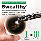 RxSugar Plant-Based Crystal Sugar Stick Packs, 11