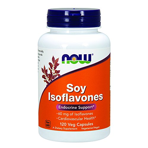 NOW Soy Isoflavones 60mg Capsules