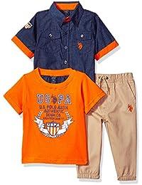 Baby Boys Short Sleeve, T-Shirt Pant Set