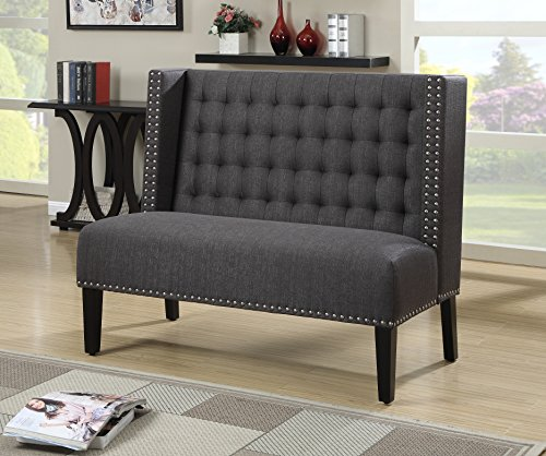 Pulaski Katherine Settee Anthracite Sofas And Couches