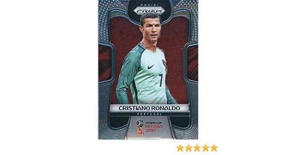 Cristiano Ronaldo Portugal Panini Prizm Copa del Mundo 2018 tarjeta #154 Qty invertir