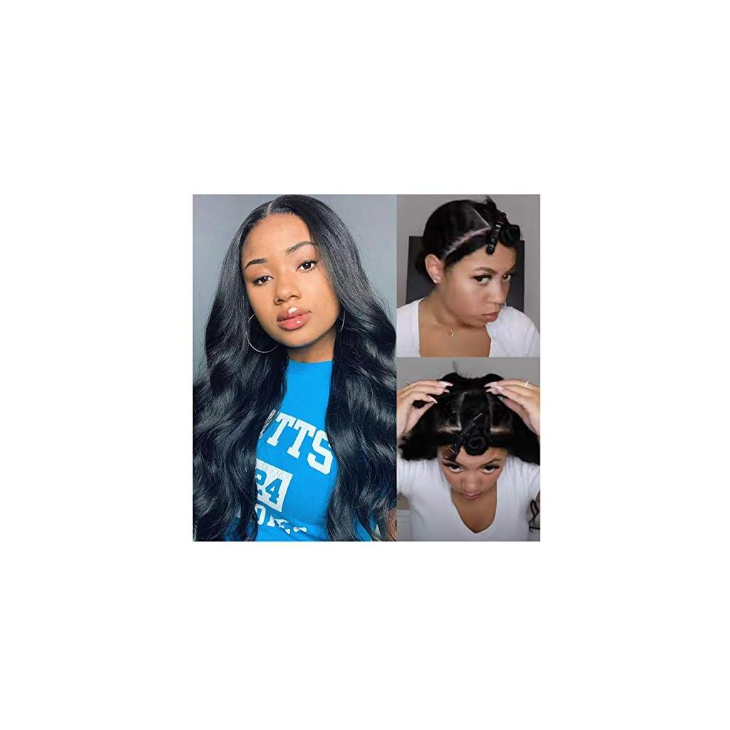 Sijimei-20-inch-U-Part-Wig-Human-Hair-for-Black-Women-U-Shape-Body-Wave-Brazilian-Virgin-Human-Hair-Clip-in-Half-Wig-130-Density-Glueless-None-Lace-U-Part-Wigs-Natural-Color
