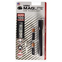 Maglite Mini LED 2-Cell AAA Flashlight Black