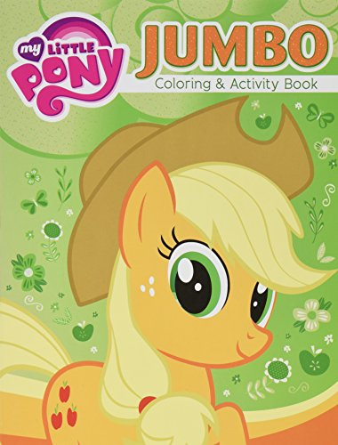 2 Pack 96pg My Little Pony Jumbo Coloring & Activity Book - Assorted]()