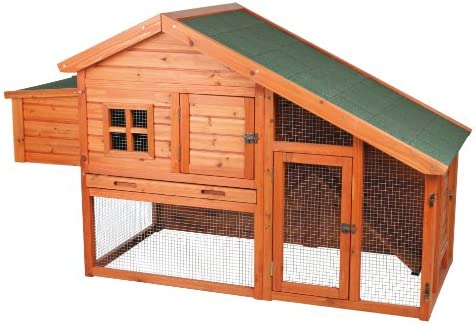 Trixie Pet Products Chicken Coop with a View, 72 x 31 5 x 42 inches