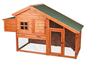 TRIXIE Pet Products Chicken Coop with a View, 72 x 31.5 x 42 inches