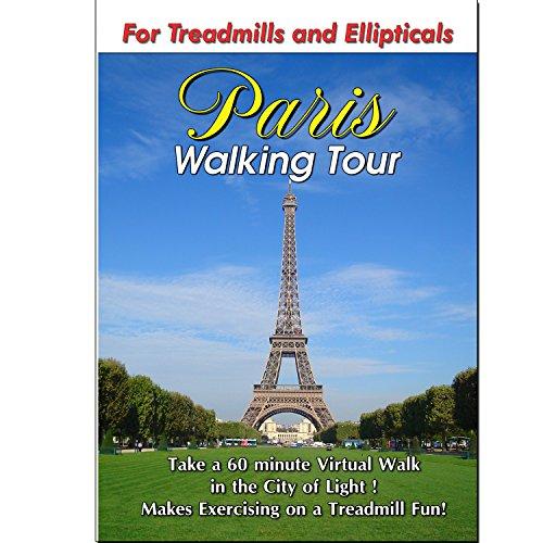 Paris Walking Tour Exercise Scenery DVD for Treadmills (Vita Walking Dvd)
