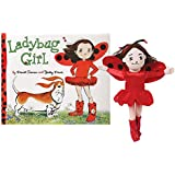 Girl's Ladybug Girl Book And Plush Stuffed Doll Gift Set