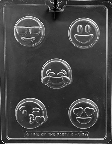 Emoji Cookie Oreo Chocolate Mold Party Favors