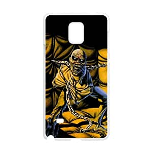 Iron Maiden Samsung Galaxy Note 4 Cell Phone Case White Gift xxy_9905606