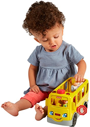 51qbPYojQ9L - Fisher-Price Little People Sit with Me School Bus Vehicle