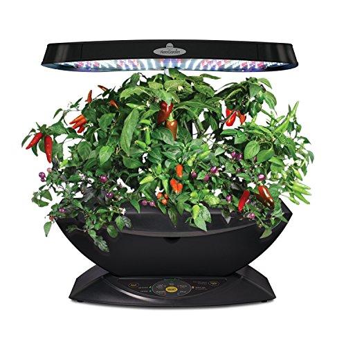 Miracle gro aerogarden 7 led indoor garden with gourmet for Indoor gardening amazon