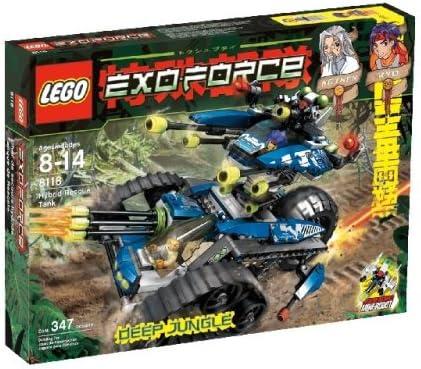 LEGO Hybrid Rescue Tank