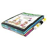 Mumustar Water Drawing Coloring Book Mat + Magic Pen Animals Painting Board Toddlers Kids Educational Play Learning Fun Toys