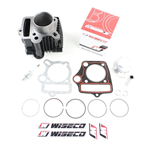 NICHE Cylinder Wiseco Piston Gasket Top End Kit for Honda CRF70F 2004-2009, 2011-2012