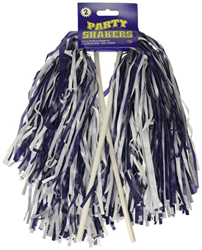 Cheap Dallas Cowboy Cheerleading Costumes - Pkgd Blue & White Poly Shakers