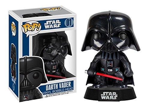 Star Wars - Darth Vader POP Figure Toy 3 x 4in