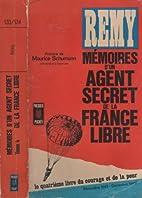 Mémoires d'un agent secret de la France…