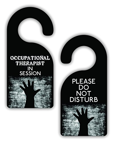 occupational therapist in session please do not disturb therapy