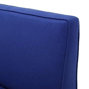 Chandler Royal Blue Fabric Love Seat