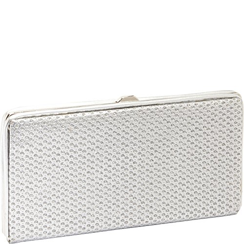 vizzini-inc-we-mesh-together-silver-wallet-clutch-silver